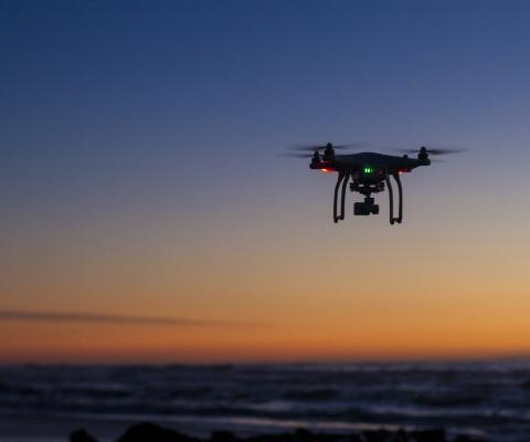 wykonywanie fotogrametrii dronem